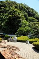神奈川県 光明寺 三尊五祖の石庭