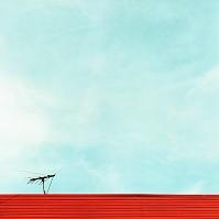 青空と屋根