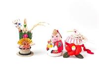 甲府福申土鈴と正月飾り