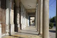 キューバ 柱廊