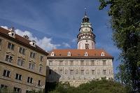 チェコ チェスキー・クルムロフ城と塔