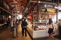 スペイン マドリッド サン・ミゲル市場 生ハム店