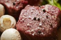 牛ヒレ肉と材料