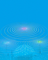CG 抽象 電波イメージ
