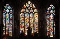フランス ブルターニュ地方 中世都市ロクロナン 聖ロナン教会
