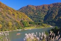 山形県 紅葉の最上川 舟下り