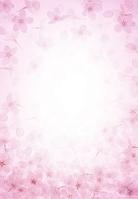 桜の背景イメージ (CG)