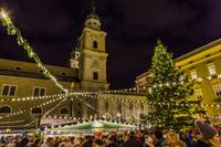 オーストリア ザルツブルクのクリスマスマーケット