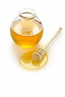 蜂蜜スプーンと蜂蜜