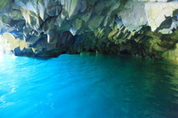 岩手県 宮古市 浄土ヶ浜 青の洞窟