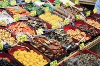 京都府 錦市場の正月食材