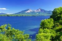 福島県 磐梯山と桧原湖