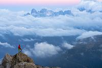 イタリア 登山者