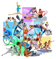 オリンピックイメージと会場