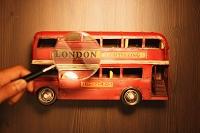 旅行イメージ ロンドンのダブルデッカー