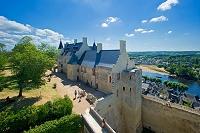 フランス シノン シノン城のクードレイ砦