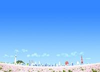 イラスト  都市イメージ