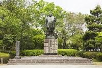 静岡県 徳川家康像