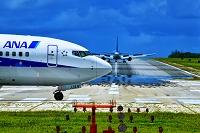 沖縄県 下地島空港 ボーイング737