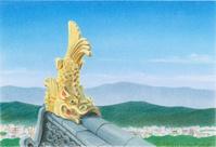 岡山城の鯱