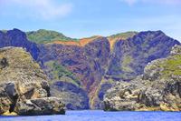 東京都 小笠原諸島 父島 南島から望む千尋岩(ハートロック)