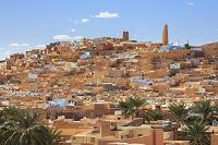 アルジェリア ムザブの谷 ベニ・イスゲンの町並み
