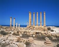リビア・サブラタ遺跡 イシス神殿