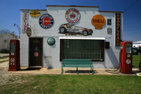アメリカ合衆国 イリノイ州 ルート66 カーガレージ