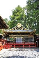 栃木県 日光東照宮の祈祷殿