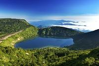 福島県 一切経山五色沼と雲海