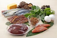 ビタミンB2を多く含む食材