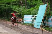 京都府 下鴨神社 流鏑馬(葵祭) 演者 狩衣姿 的