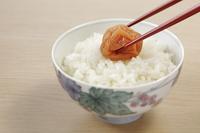 梅干し(南高梅)とご飯