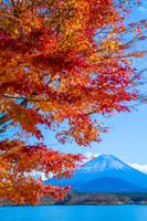 富士山 精進湖 山梨県 富士河口湖町