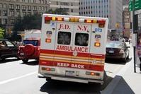 アメリカ ニューヨーク市消防局の救急車