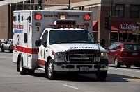 アメリカ シカゴ消防署の救急車