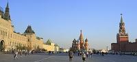 ロシア モスクワ クレムリンと赤の広場