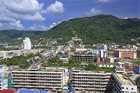 タイ プーケットのパトン・ビーチの街並み