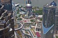 上海 ジンマオタワーから