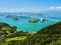 愛媛県 亀老山からの瀬戸内海