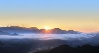 宮崎県高千穂町 国見ヶ丘の朝日