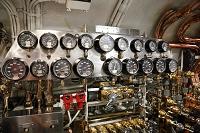 ハワイ 真珠湾 潜水艦ボウフィン号博物館 圧力計