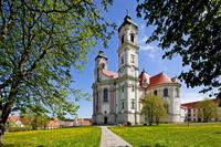 ドイツ  オットーボイレン修道院教会