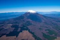 御殿場より富士山後方赤石山脈