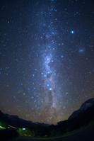 ニュージーランド 南半球で見る天の川