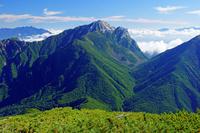 長野県 小仙丈岳から甲斐駒ヶ岳