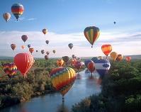 アメリカ ニューメキシコ 気球フェスティバル