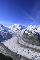 スイス ツェルマットのゴルナー氷河