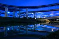 京都府 久御山ジャンクションの夜景