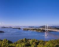 岡山県 鷲羽山から瀬戸大橋